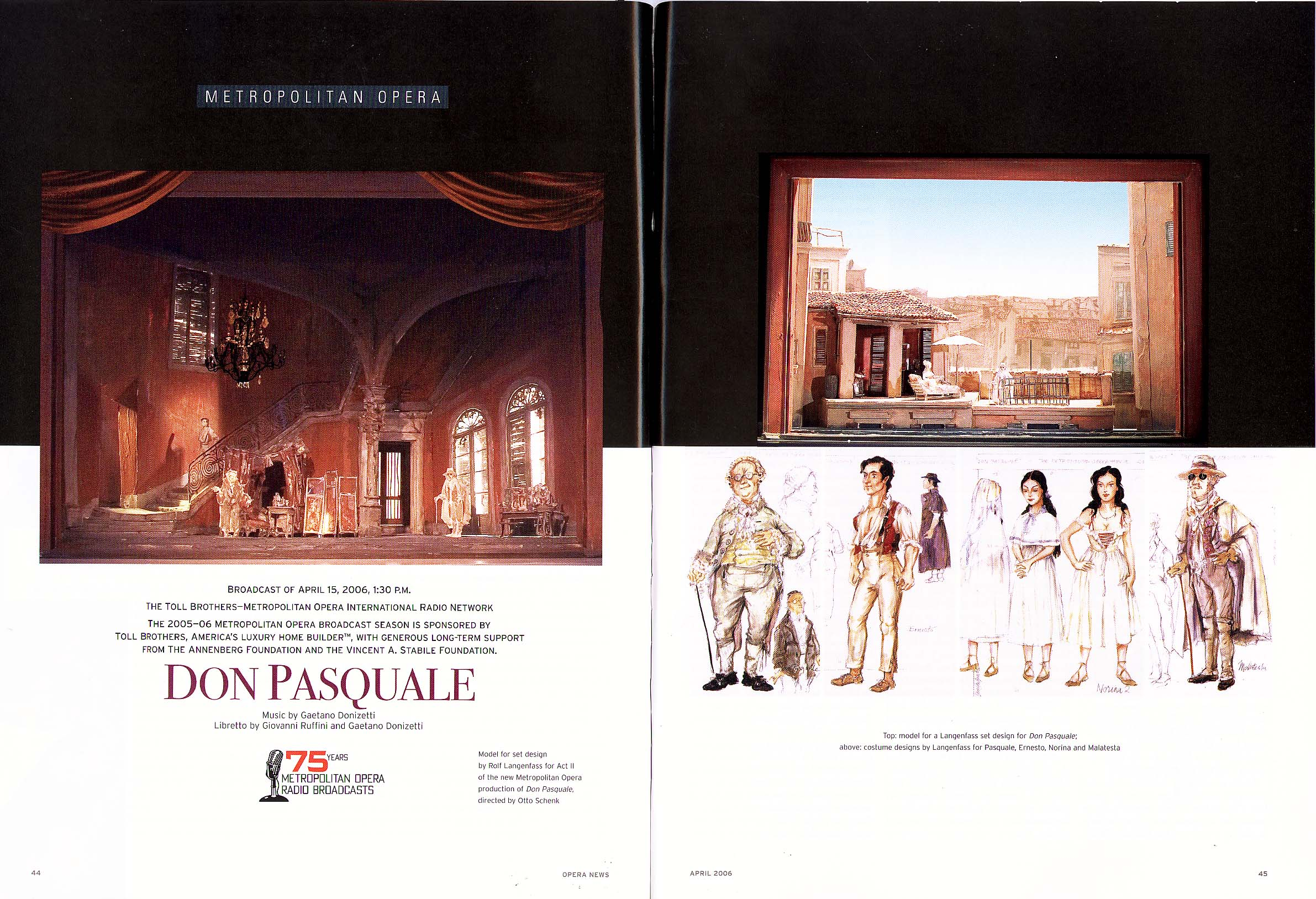 DON PASQUALE @  |  |