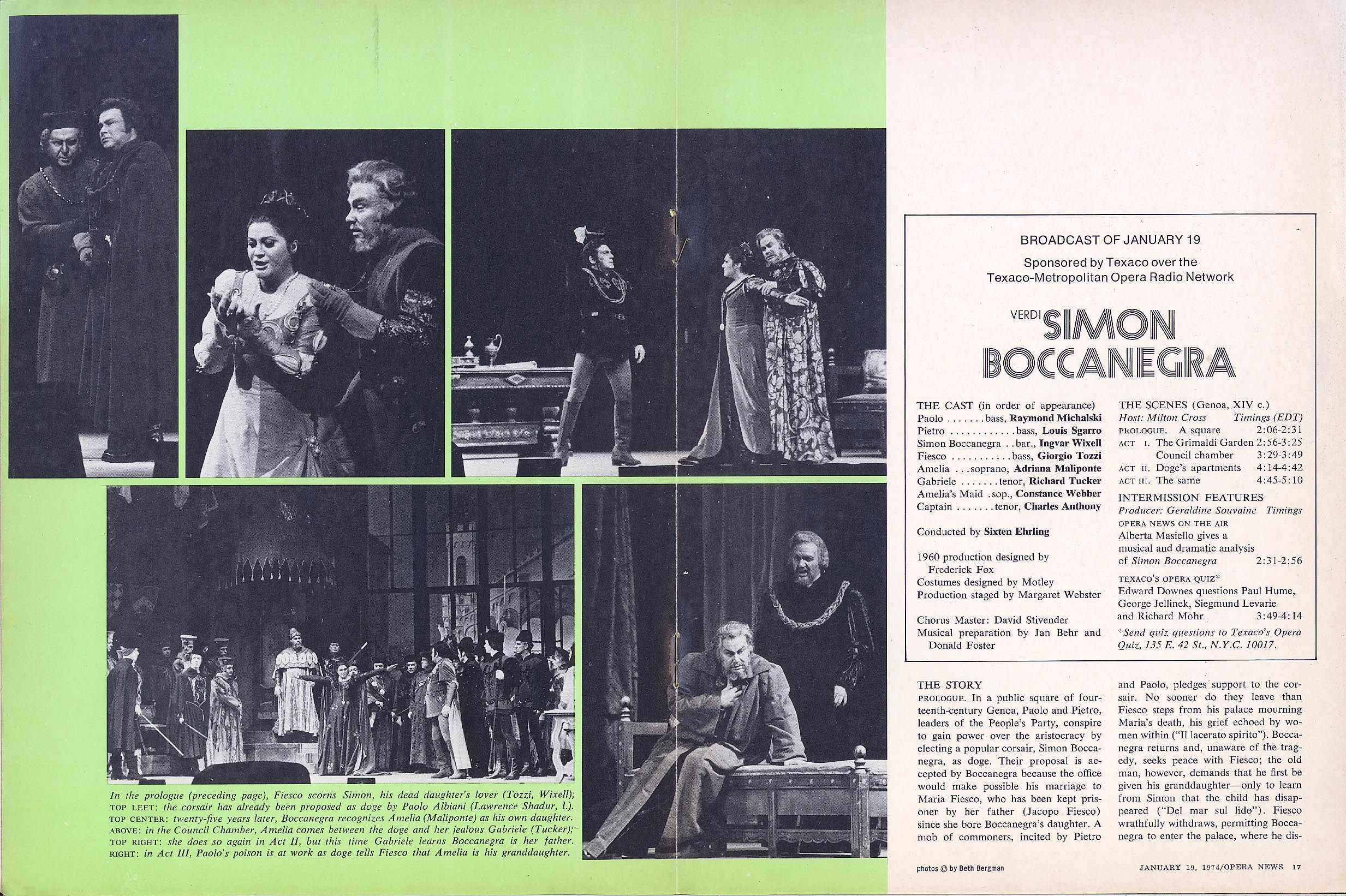stereo review metropolitan opera on the air cover january 1973